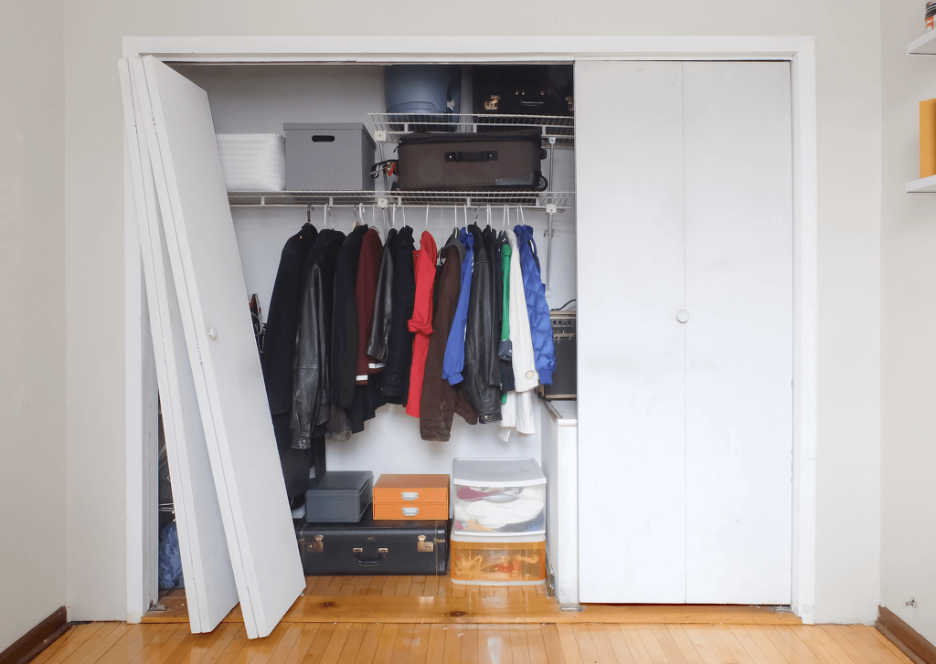 How To Replace Bi Fold Closet Doors With Sliding Ones Apartment