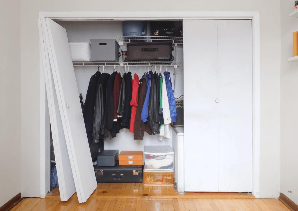 Bye-Bye Bi-Fold Closet Doors. Hello Space-Saving Slider Doors