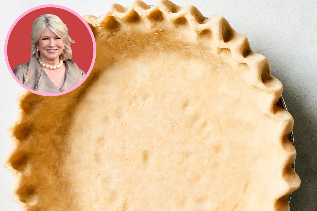 Martha Stewart's Famous Pie Dough Wasn't What I Expected