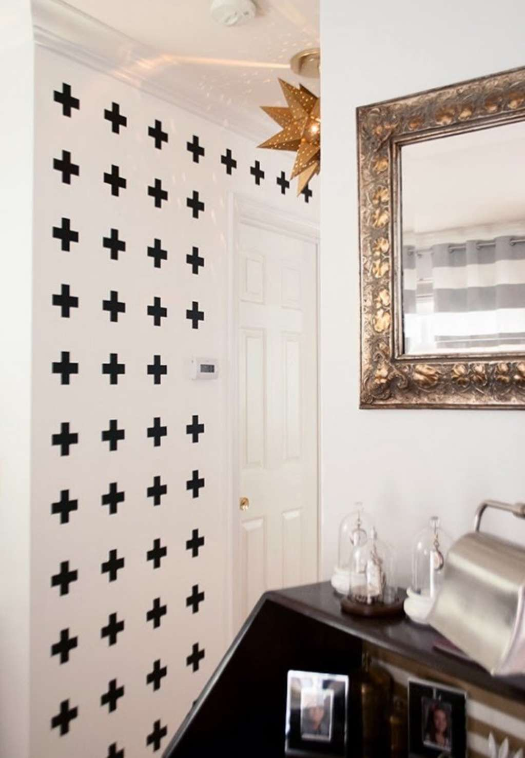 3 DIY Ideas For Patterned Walls That Don't Require Painting Them