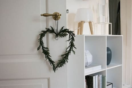 diy christmas decorations with scandinavian style apartment therapy