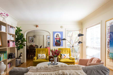 Dallas Home Tour A Colorful Rental Apartment Apartment Therapy