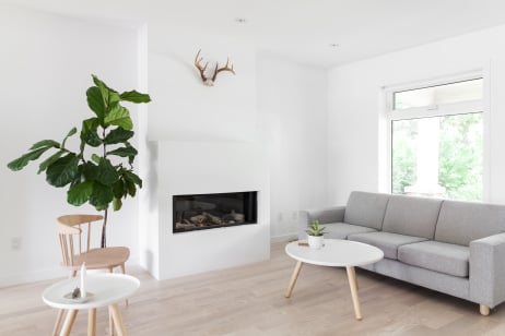 House Tour Scandi Minimalist Style In An All White Home Apartment