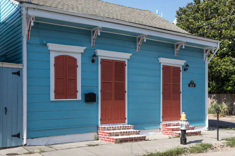 New Orleans House Tour Bohemian Creole Cottage Apartment Therapy