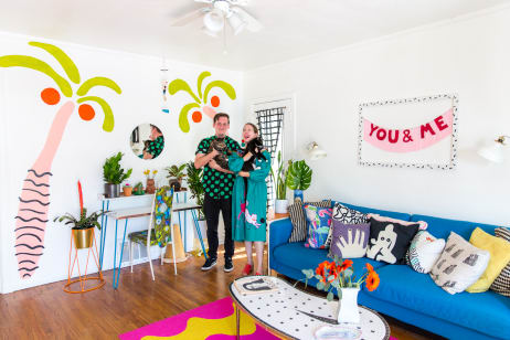 House Tour: A Vibrant, Patterned U0026 Playful Pasadena Home | Apartment Therapy