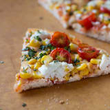 Summer Recipe: Corn, Tomato, and Goat Cheese Pizza