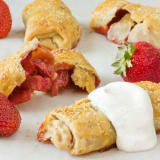 Breakfast Recipe: Baked Berry Wraps with Whipped Creme Fraiche