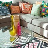 Colorful cushions
