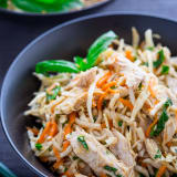 Sesame Chicken Celery Root Salad