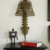 Curiosity skeleton lamp