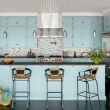 Pantone Serenity Kitchen