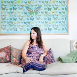 Amy Campbell's Cheery, Travel-Inspired Townhouse