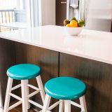 Turquoise kitchen stools