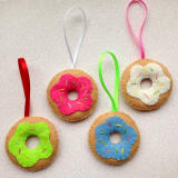 Donut ornaments