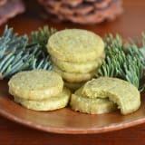 Recipe: Evergreen Shortbread Cookies