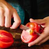 how to make tomato puree