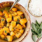 Butternut Squash Green Curry