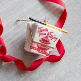 Takeout box ornament