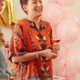 Geraldine Laughing