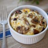 mushroom egg breakfast bakes recipe