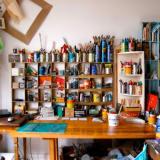 art-studio-organization