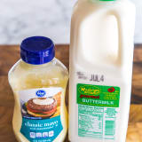 Mayonnaise and buttermilk