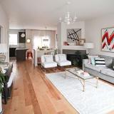 House Tour Suzannah Amp Jason S Diy Townhome Apartment