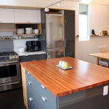 Lauren And Kyle S Sleek Warm Seattle Kitchen Kitchn