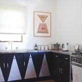 Custom painted cupboards