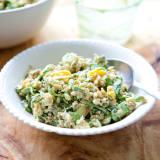 Recipe: Spring Grain Salad with Mango, Sprouts and Creamy Avocado Dressing