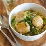 Recipe: Scallops with Lime & Cilantro