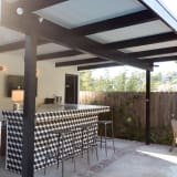 Patio outdoor bar
