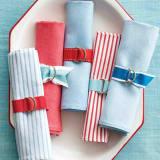 patriotic ribbon napkin rings