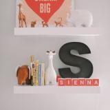 Sienna's Girly Graphic Nursery