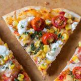 Summer Recipe: Corn, Tomato, and Goat Cheese Pizza