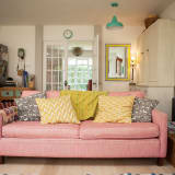 House Tour A Candy Colored London Cottage Apartment Therapy