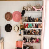 Shoes hats purses