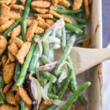 Modern Green Bean Casserole