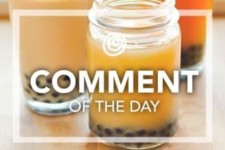 Bubble Tea Boba Tea - Comment of the Day