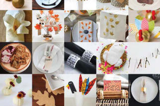 DIY Craft Projects Thanksgiving Dinner