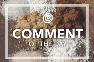 Brown Sugar - Comment of the Day