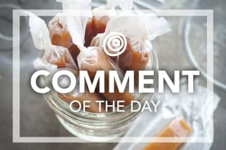 Homemade Caramels - Comment of the Day