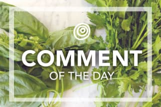 Fresh herbs - Comment of the Day