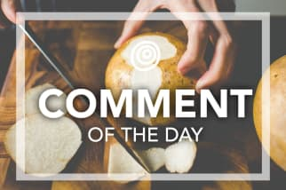 Peeling Jicama comment of the day