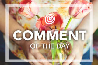 Comment of the Day - Gift
