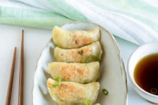 Scallion Pancake Pierogi