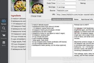 Paprika recipe app screenshot