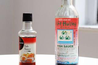 Thai and Vietnamese Fish Sauce Bottles