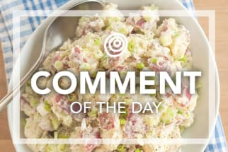 Homemade Potato Salad - Comment of the Day