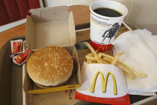 McB Organic McDonald's Hamburger
